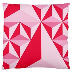 3d Pattern Experiments Large Cushion Case (one Side)