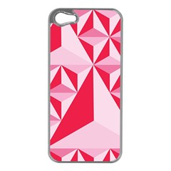3d Pattern Experiments Apple iPhone 5 Case (Silver)