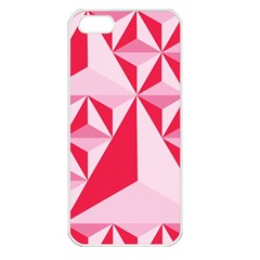 3d Pattern Experiments Apple Iphone 5 Seamless Case (white)