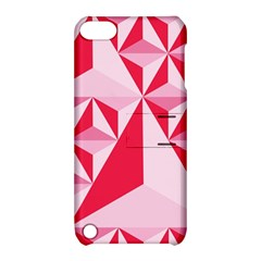 3d Pattern Experiments Apple Ipod Touch 5 Hardshell Case With Stand