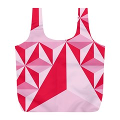 3d Pattern Experiments Full Print Recycle Bags (L)