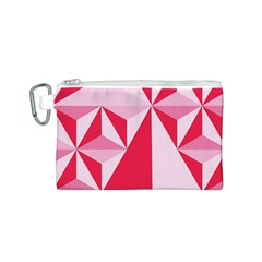 3d Pattern Experiments Canvas Cosmetic Bag (S)