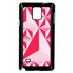 3d Pattern Experiments Samsung Galaxy Note 4 Case (Black)