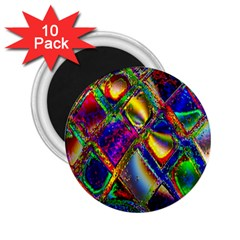 Abstract Digital Art 2 25  Magnets (10 Pack)