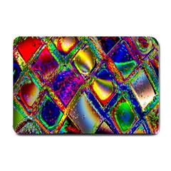 Abstract Digital Art Small Doormat