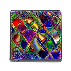 Abstract Digital Art Memory Card Reader (square)