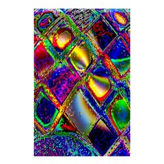 Abstract Digital Art Shower Curtain 48  x 72  (Small)