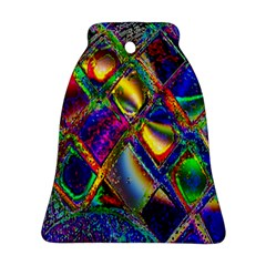 Abstract Digital Art Bell Ornament (Two Sides)