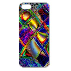Abstract Digital Art Apple Seamless iPhone 5 Case (Clear)