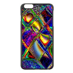 Abstract Digital Art Apple iPhone 6 Plus/6S Plus Black Enamel Case