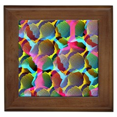 3d Pattern Mix Framed Tiles