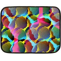 3d Pattern Mix Double Sided Fleece Blanket (Mini)