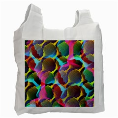 3d Pattern Mix Recycle Bag (two Side)