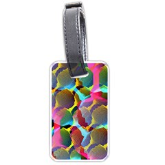 3d Pattern Mix Luggage Tags (Two Sides)