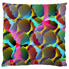 3d Pattern Mix Large Cushion Case (Two Sides)