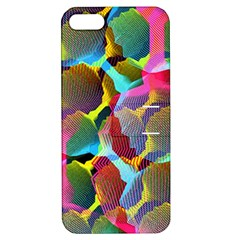 3d Pattern Mix Apple iPhone 5 Hardshell Case with Stand