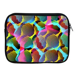3d Pattern Mix Apple iPad 2/3/4 Zipper Cases