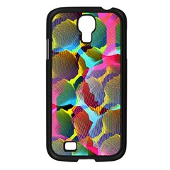 3d Pattern Mix Samsung Galaxy S4 I9500/ I9505 Case (Black)