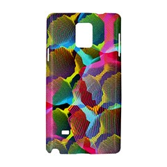 3d Pattern Mix Samsung Galaxy Note 4 Hardshell Case