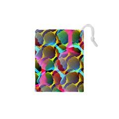 3d Pattern Mix Drawstring Pouches (XS)