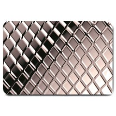 3d Abstract Pattern Large Doormat
