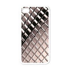 3d Abstract Pattern Apple Iphone 4 Case (white)