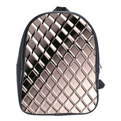 3d Abstract Pattern School Bags (XL)
