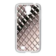 3d Abstract Pattern Samsung GALAXY S4 I9500/ I9505 Case (White)