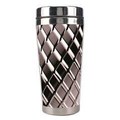 3d Abstract Pattern Stainless Steel Travel Tumblers