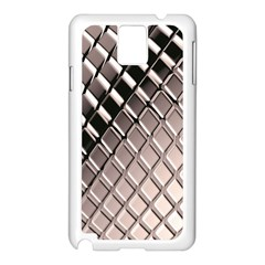 3d Abstract Pattern Samsung Galaxy Note 3 N9005 Case (White)