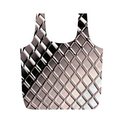 3d Abstract Pattern Full Print Recycle Bags (M)