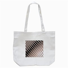 3d Abstract Pattern Tote Bag (White)