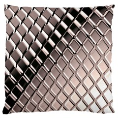 3d Abstract Pattern Large Flano Cushion Case (Two Sides)