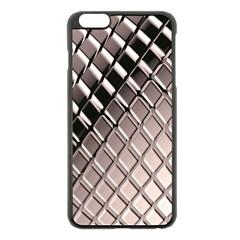 3d Abstract Pattern Apple Iphone 6 Plus/6s Plus Black Enamel Case