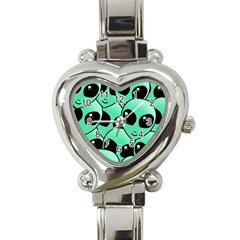 Alien Heart Italian Charm Watch