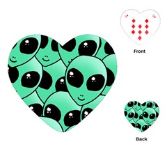 Alien Playing Cards (Heart)