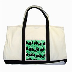 Alien Two Tone Tote Bag