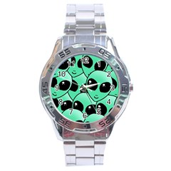 Alien Stainless Steel Analogue Watch