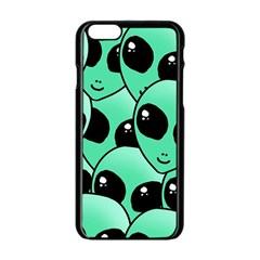 Alien Apple iPhone 6/6S Black Enamel Case