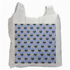 Alien Pattern Recycle Bag (Two Side)