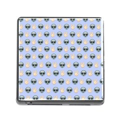 Alien Pattern Memory Card Reader (square)