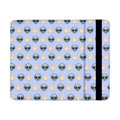 Alien Pattern Samsung Galaxy Tab Pro 8 4  Flip Case