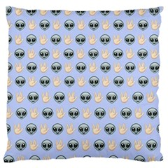 Alien Pattern Standard Flano Cushion Case (Two Sides)
