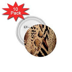 Animal Fabric Patterns 1.75  Buttons (10 pack)