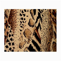 Animal Fabric Patterns Small Glasses Cloth (2-Side)