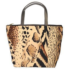 Animal Fabric Patterns Bucket Bags