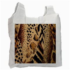 Animal Fabric Patterns Recycle Bag (Two Side)