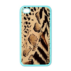 Animal Fabric Patterns Apple iPhone 4 Case (Color)