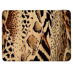 Animal Fabric Patterns Samsung Galaxy Tab 7  P1000 Flip Case