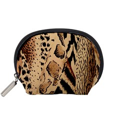 Animal Fabric Patterns Accessory Pouches (Small)
